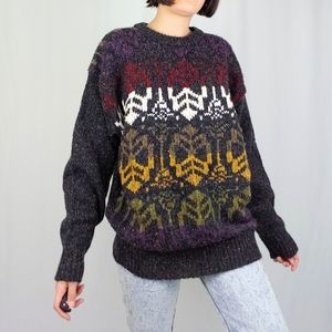 Vintage wool blend sweater